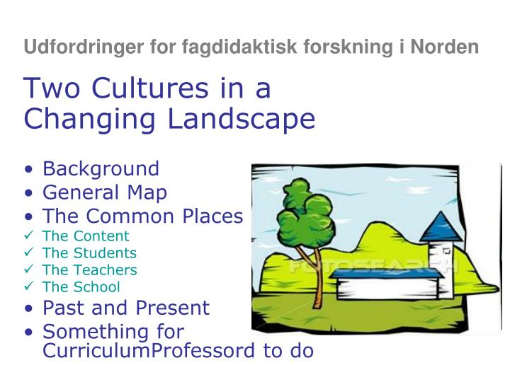 Udfordringer for fagdidaktisk forskning i Norden