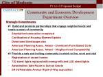 community and economic development department overview3