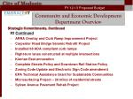 community and economic development department overview4
