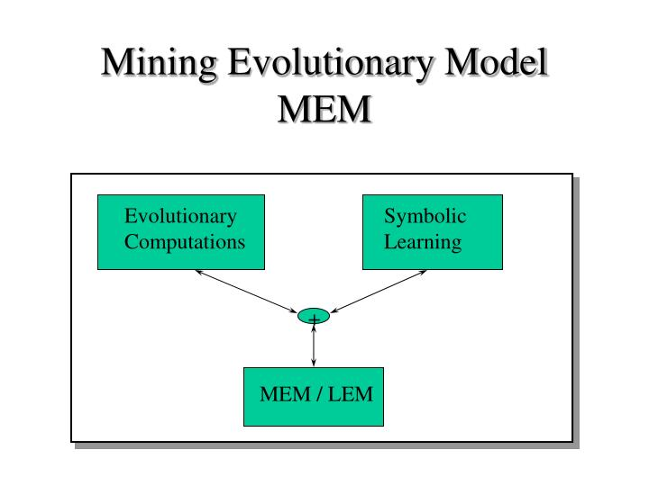 Mining evolutionary model mem1
