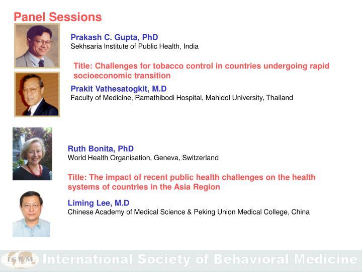 Prakash C. Gupta, PhD