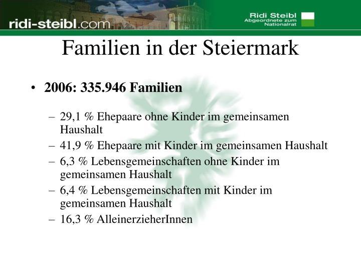 Familien in der Steiermark