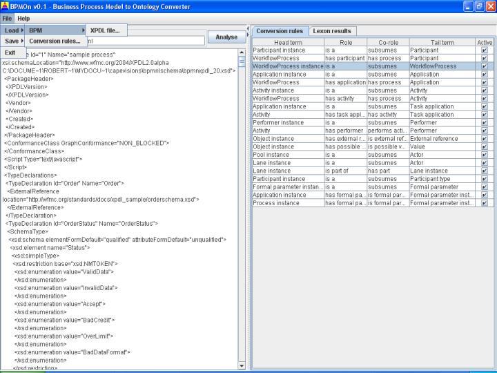 5.5.1. BPMOn Tool