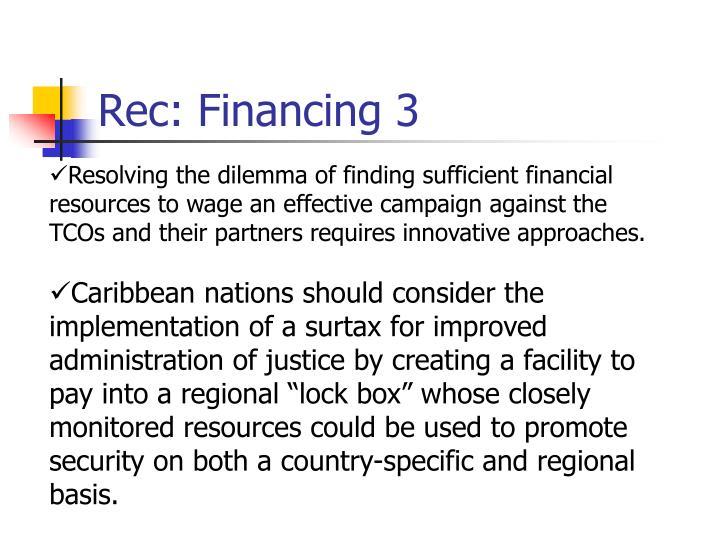 Rec: Financing 3