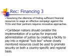 rec financing 3