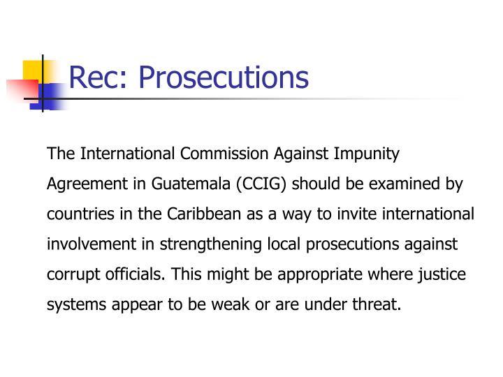 Rec: Prosecutions