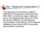 rec regional cooperation 2
