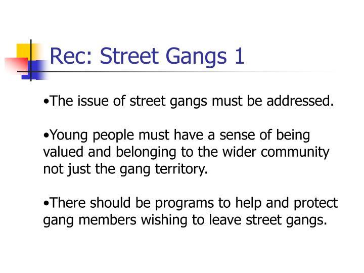 Rec: Street Gangs 1