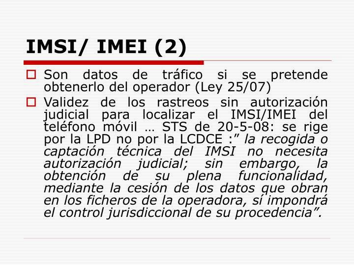 IMSI/ IMEI (2)