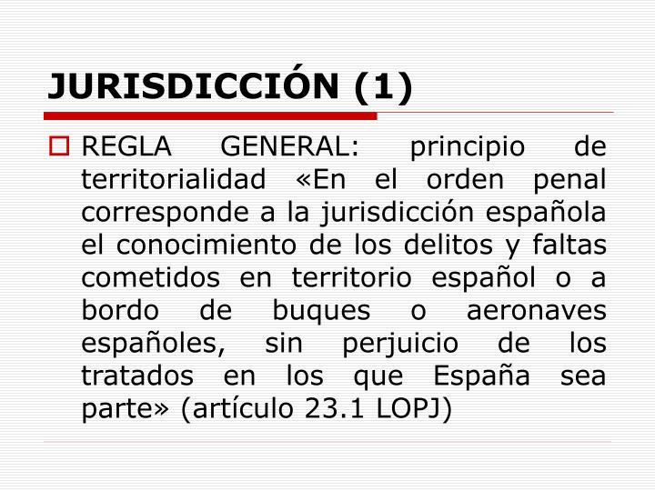 JURISDICCIÓN (1)