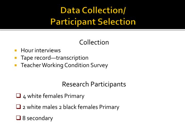 Data Collection/