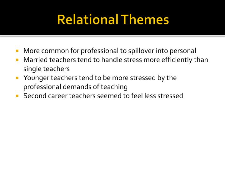 Relational Themes
