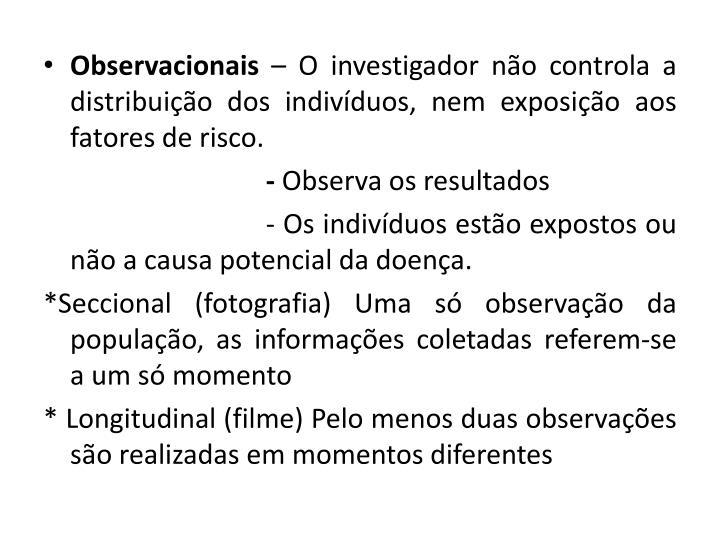 Observacionais
