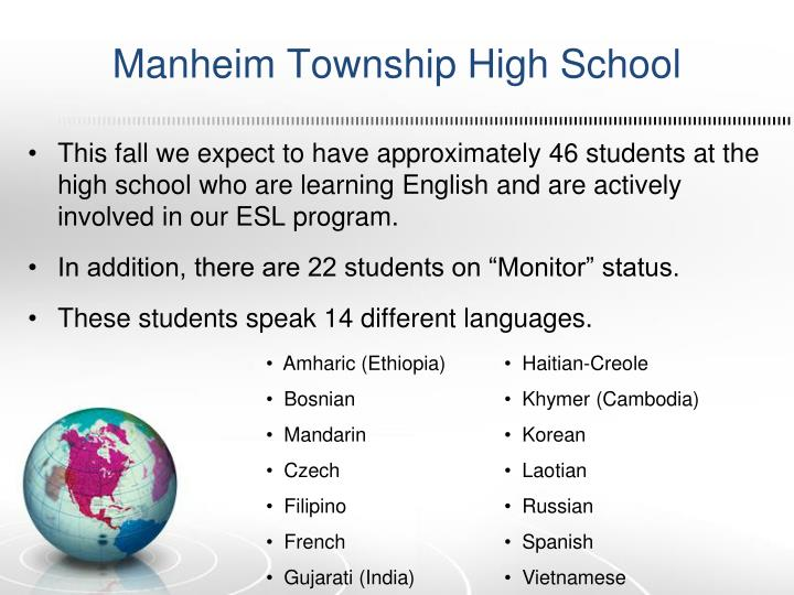 Manheim Township High School