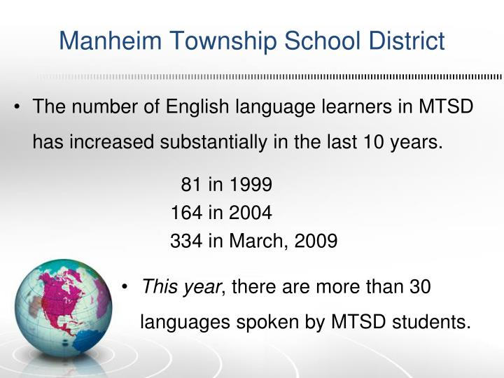 Manheim Township School District