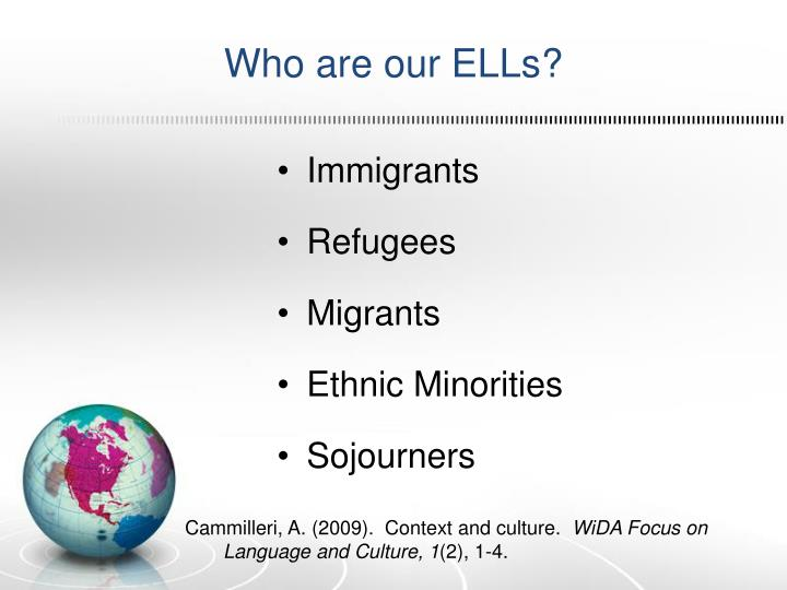 Who are our ELLs?