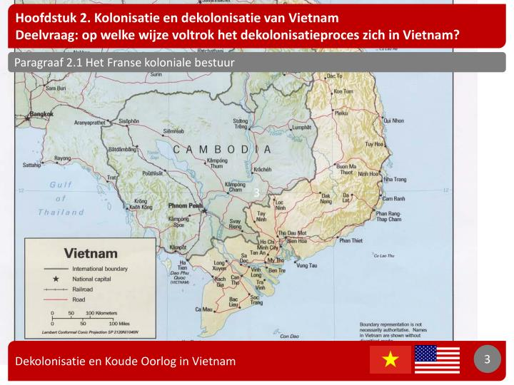 Hoofdstuk 2. Kolonisatie en dekolonisatie van Vietnam