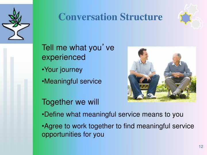 Conversation Structure