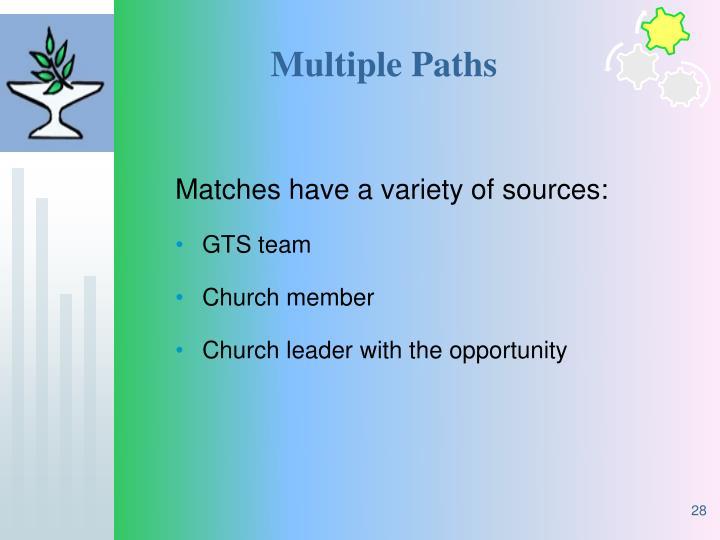 Multiple Paths
