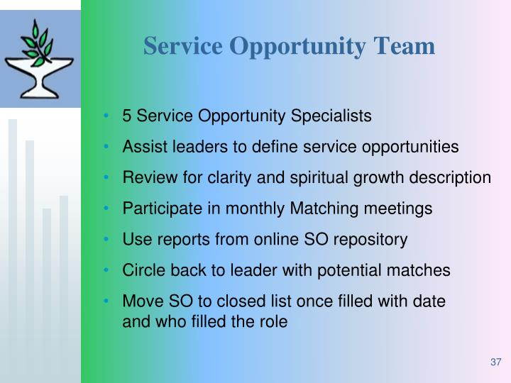 Service Opportunity Team