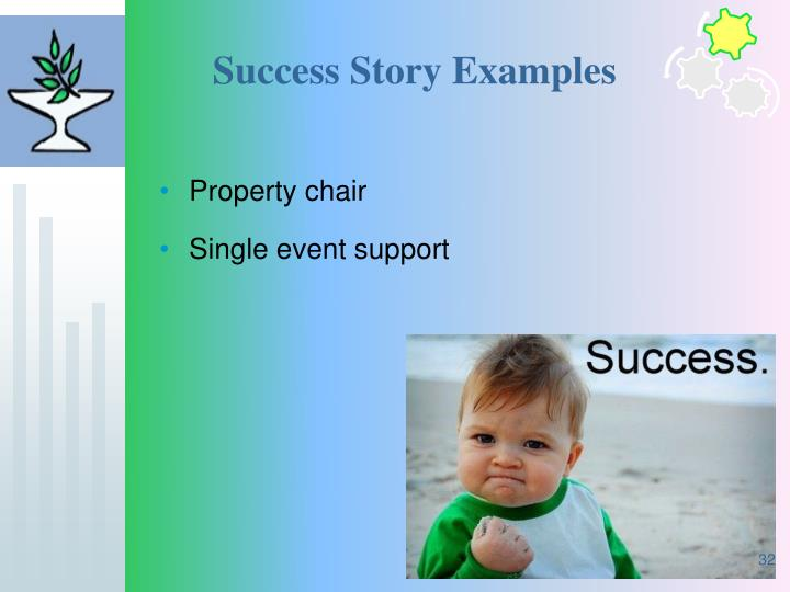 Success Story Examples