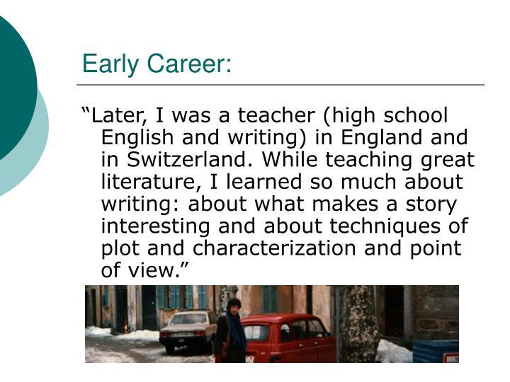Early Career: