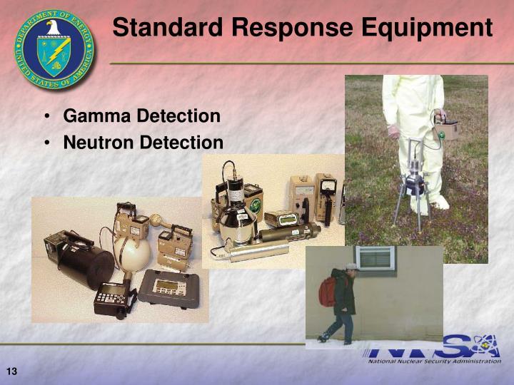Standard Response Equipment