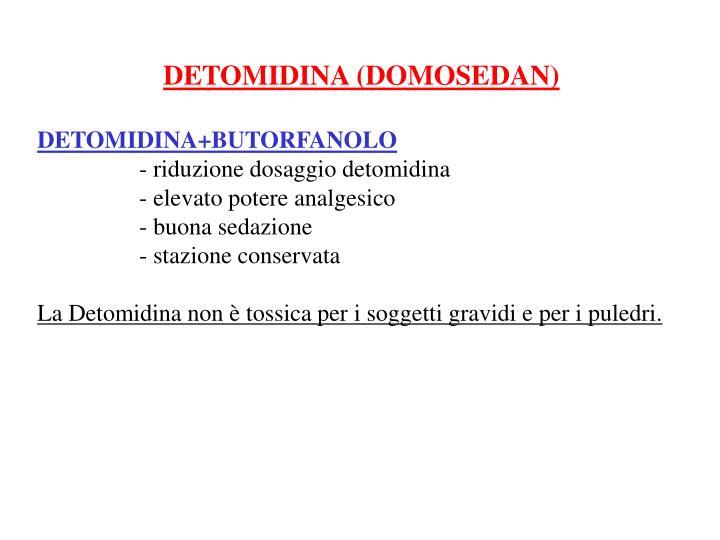 DETOMIDINA (DOMOSEDAN)
