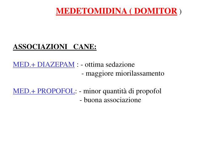 MEDETOMIDINA ( DOMITOR