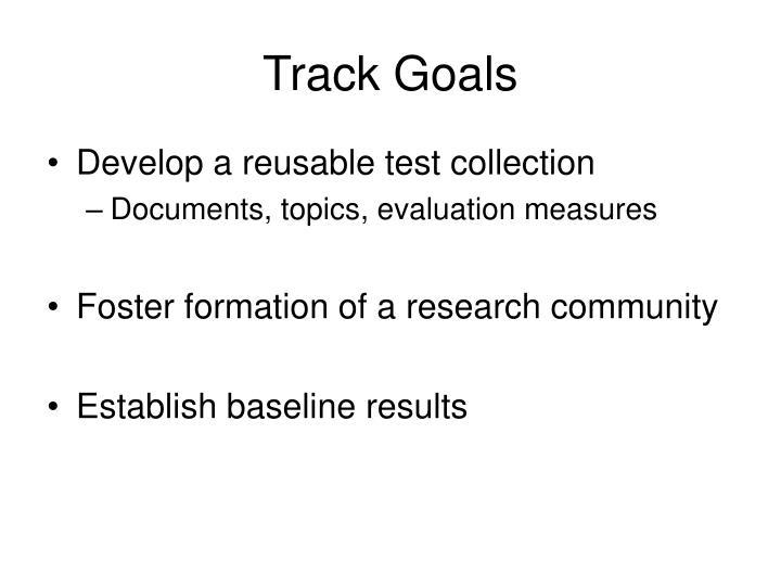 Track Goals