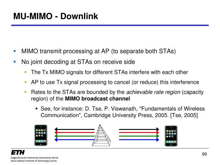 MU-MIMO - Downlink