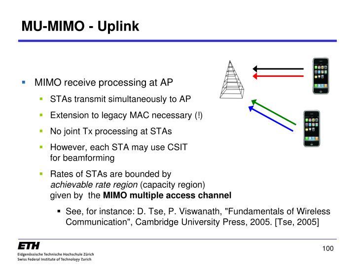 MU-MIMO - Uplink
