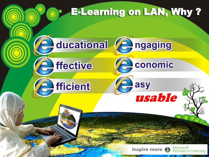 E-Learning on LAN, Why ?