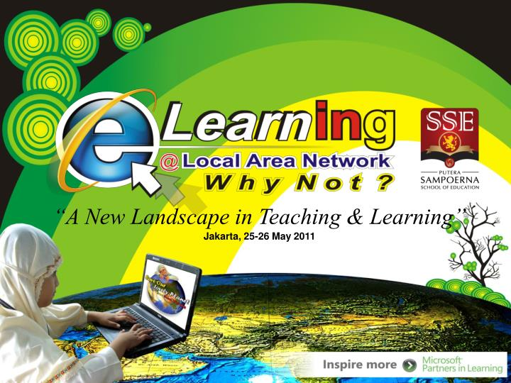 """A New Landscape in Teaching & Learning"""