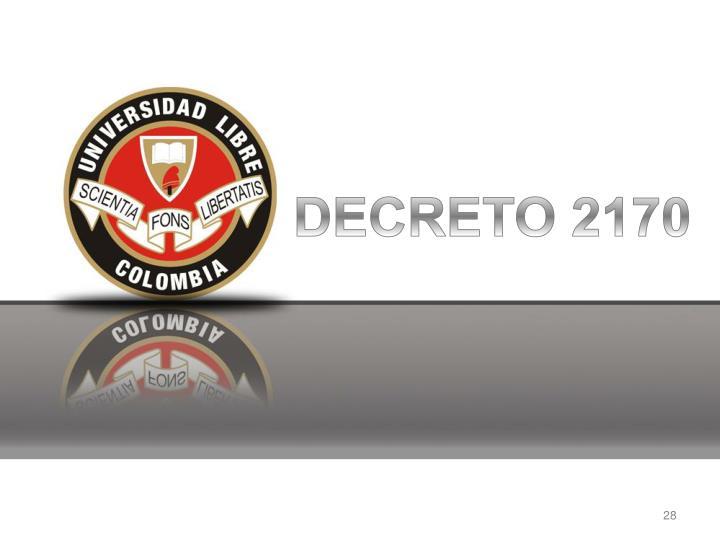 DECRETO 2170