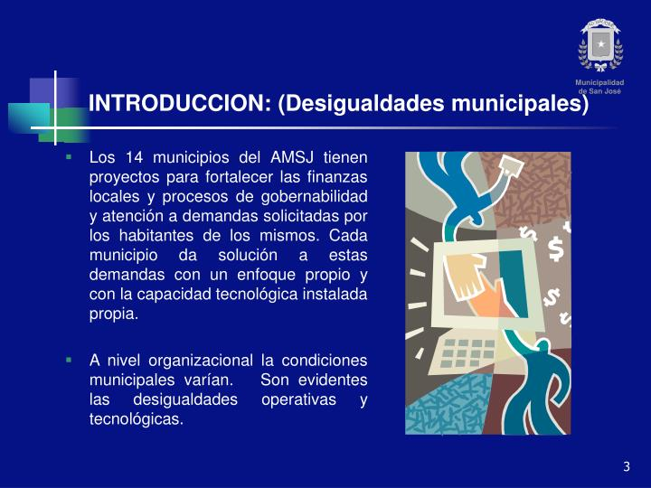 Introduccion desigualdades municipales