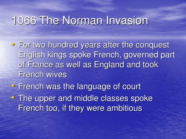 1066 The Norman Invasion