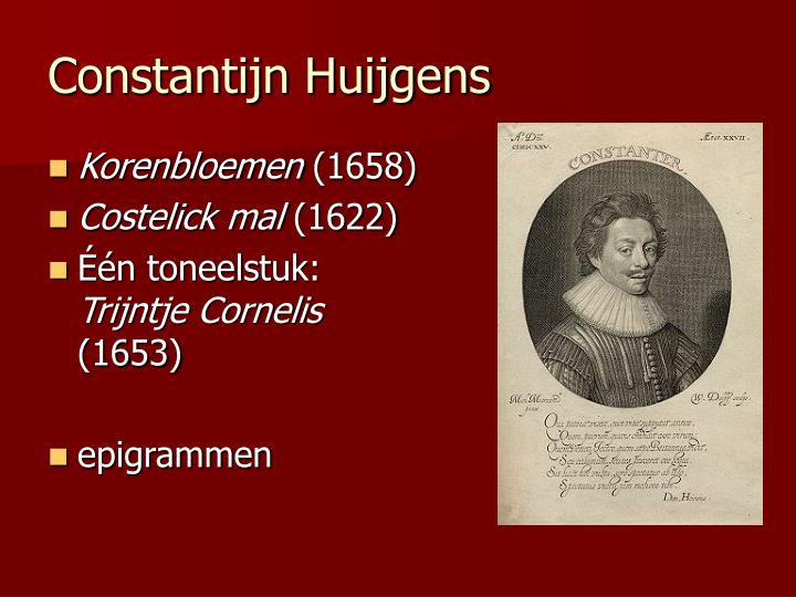 Constantijn Huijgens