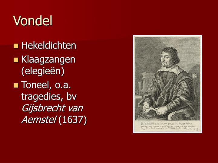 Vondel