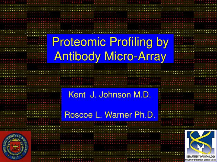 Proteomic Profiling by