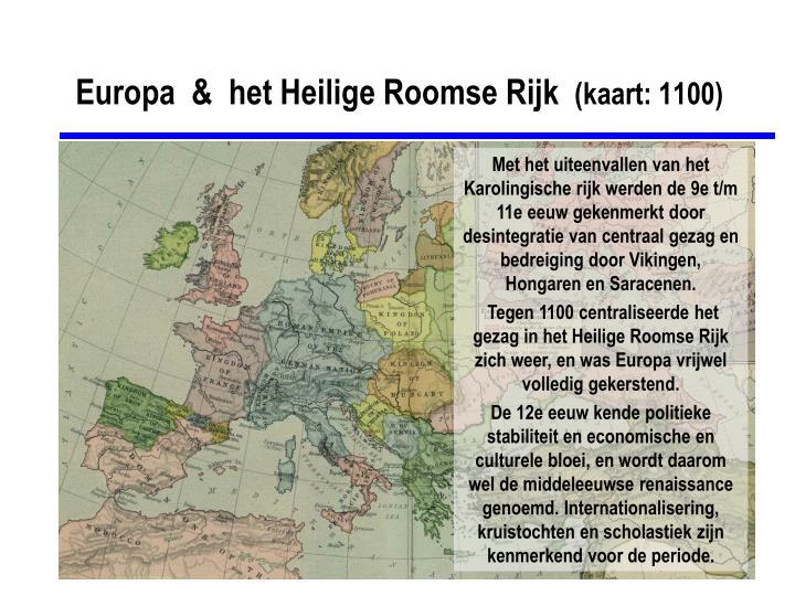 Europa  &  het Heilige Roomse Rijk