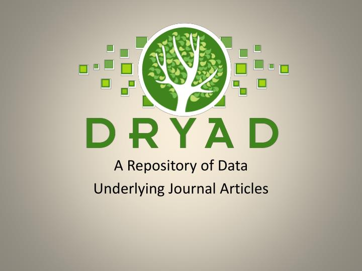 A Repository of Data