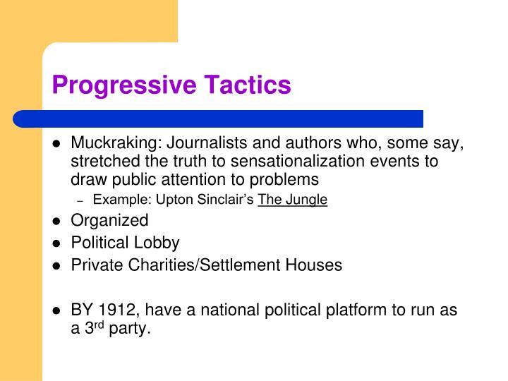 Progressive Tactics