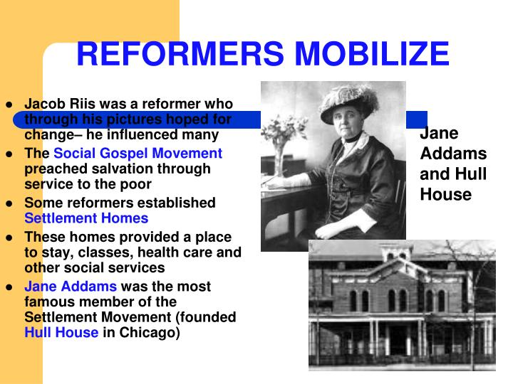 REFORMERS MOBILIZE