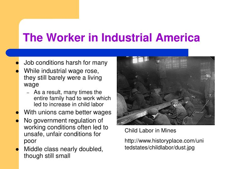 The Worker in Industrial America