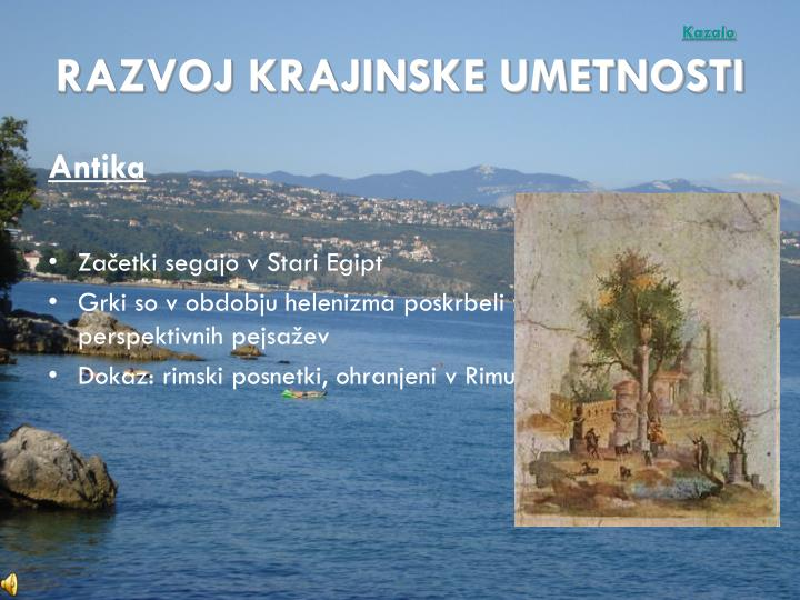 Kazalo