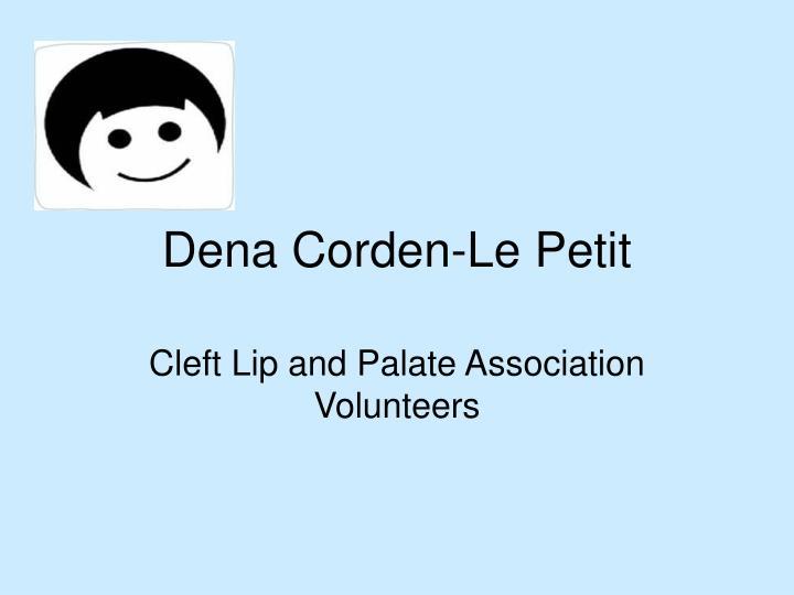 Dena Corden-Le Petit