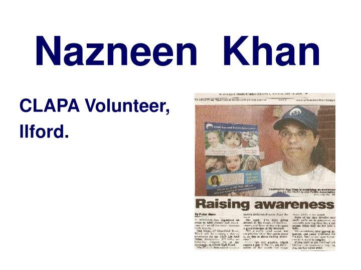 Nazneen  Khan