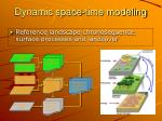 dynamic space time modeling2