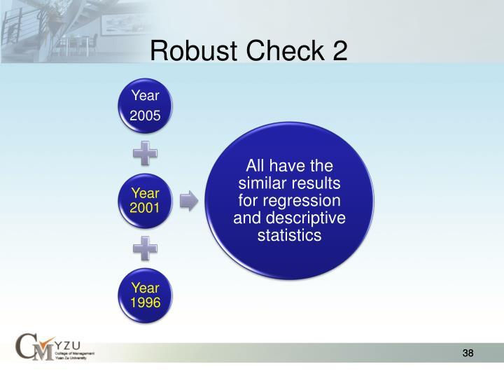 Robust Check 2